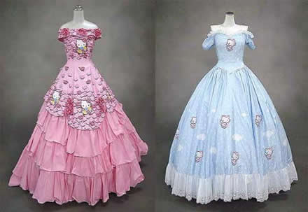 Vestidos de 15 Hello Kitty